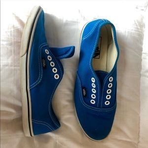 Vans Blue Authentic Lo Pro